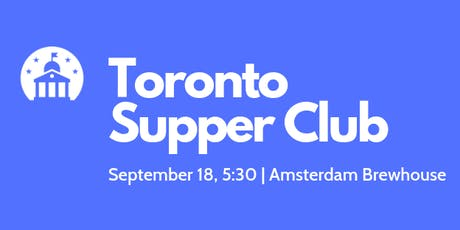 Toronto Supper Club tickets