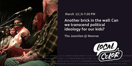 Another brick in the wall: Can we transcend political ideology for our kids? tickets
