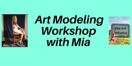 Art Modeling Workshop tickets