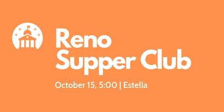Reno Supper Club tickets