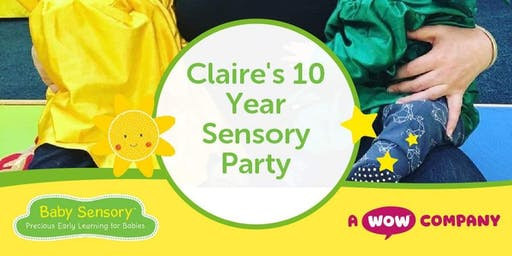 Claire's 10 Year Sensory Party
