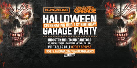 Dartford's Official Halloween Garage Party tickets