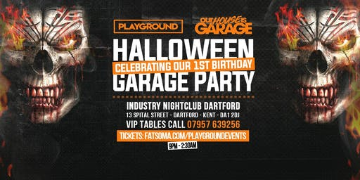 Dartford's Official Halloween Garage Party