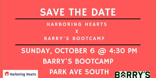 Harboring Hearts X Barry's Bootcamp