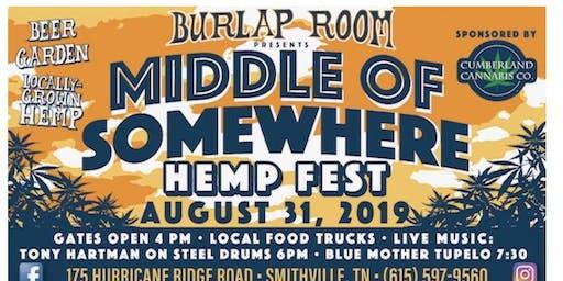 Middle of Somewhere Hemp Fest