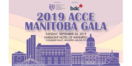 2019 ACCE Manitoba Gala tickets