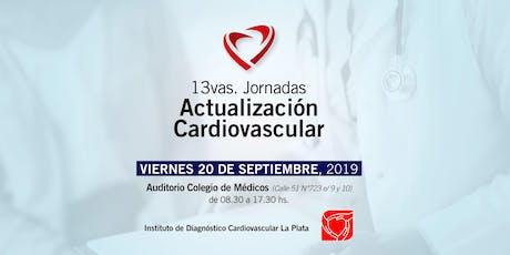 13vas Jornada de Actualización Cardiovascular entradas