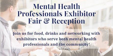 Mental Health Professionals Exhibitor Fair & Reception tickets