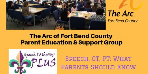 Speech, OT, PT: What Parents Need to Know - Presenter Paula Broussard CCC-SLP