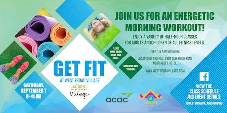 Get Fit at West Broad Village tickets
