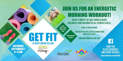 Get Fit at West Broad Village
