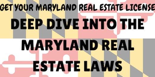 Exam Prep! Maryland Real Estate License Exam review