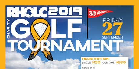 2nd Annual RHOLC Charity Golf Tournament!! tickets
