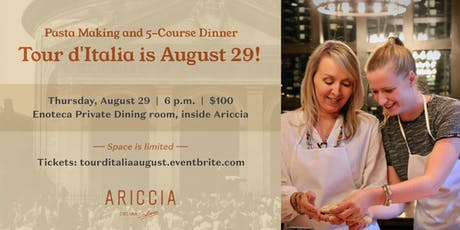 Tour d'Italia Cooking Class tickets