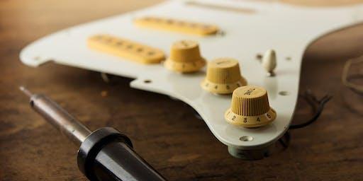 Basic Soldering & Guitar Repair Workshop