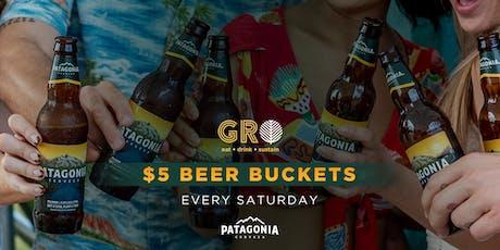 Saturdays @GROWynwood with $1 Beers tickets