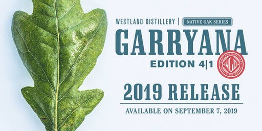 Westland Distillery - Garryana 4|1 Release Party