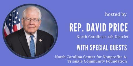 Congressman Price's Conversation with Nonprofits tickets