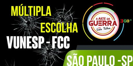 SÃO PAULO-SP | ARTE DA GUERRA BLACK SIGNATURE 360° - MÚLTIPLA ESCOLHA-VUNESP ingressos