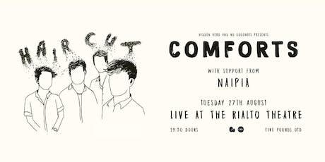 Comforts, Naipia - the Rialto Theatre, Brighton tickets