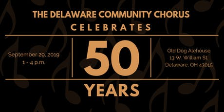 Delaware Community Chorus 50th Anniversary Celebration tickets