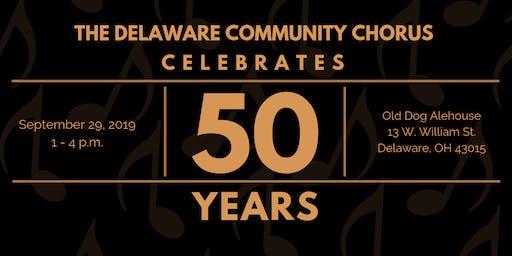 Delaware Community Chorus 50th Anniversary Celebration