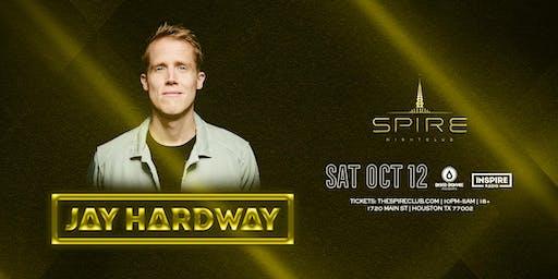 Jay Hardway / Saturday October 12th / Spire