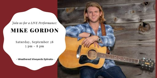 Mike Gordon LIVE at Weathered Vineyards Ephrata