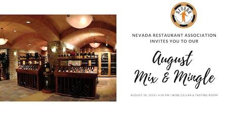 Nevada Restaurant Association August Mix & Mingle tickets