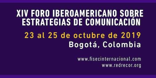 XIV Foro Iberoamericano sobre  Estrategias de Comunicación.