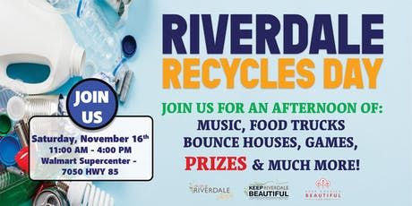 Riverdale Recycles Day tickets
