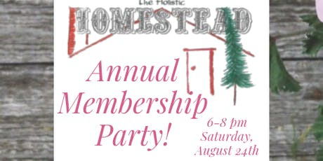 Annual Membership Party tickets