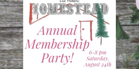 Annual Membership Party