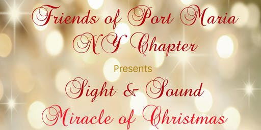 FOPMNY Present Sight & Sound Miracle of Christmas