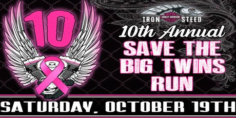 Save the Big Twins Run tickets