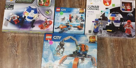 From the Earth to the Moon LEGO Build tickets