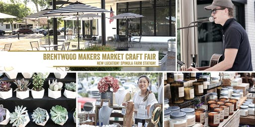 Makers Market at Spinola Farm Station - Brentwood! | A Monthly Craft Fair!