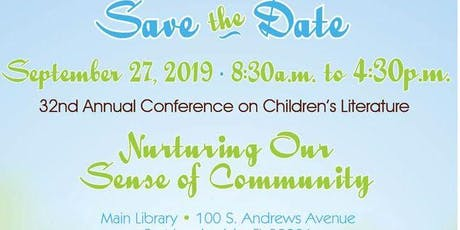 32nd Annual Conference on Children's Literature tickets