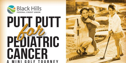 Putt Putt For Pediatric Cancer. Mini Golf Tourney