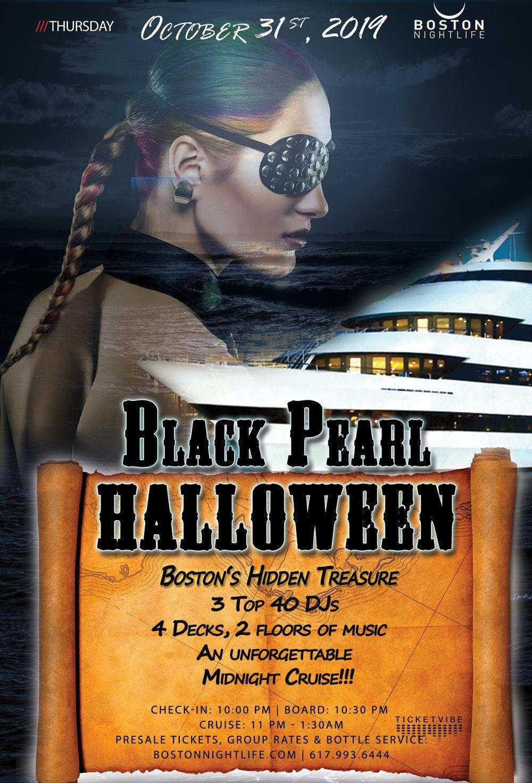 Black Pearl - Pier Pressure Boston Halloween Party