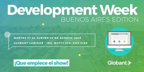 Development Week - Buenos Aires entradas