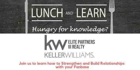 Lunch & Learn for Real Estate Agents: Build Relationships w/ your Database