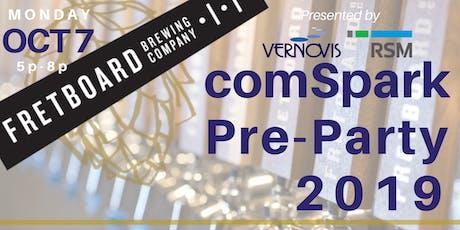 Vernovis and RSM's comSpark Pre-Party tickets