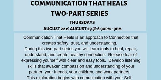 Communication That Heals