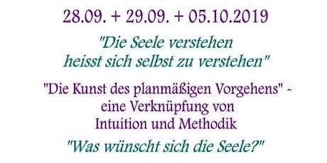 """zertifizierte 3-Tage-Intensiv-Ausbildung zum """"Seelen-Botschafter"""" Tickets"""