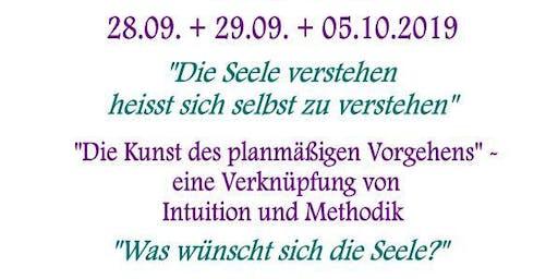 """zertifizierte 3-Tage-Intensiv-Ausbildung zum """"Seelen-Botschafter"""""""
