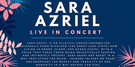 Sara Azriel in Hawaii - Big Island tickets