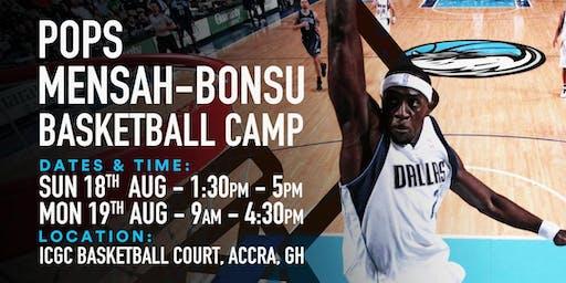 Pops Mensah-Bonsu 'Year of Return' Basketball Camp