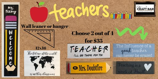 ONE TEACHER CAN CHANGE THE WORLD!