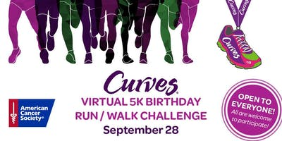 Virtual 5K Run/Walk Birthday Challenge